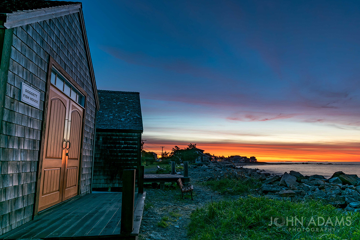 Doggett Fish House Sunrise