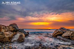 LE Sunrise Rocks