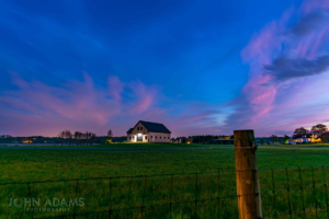 Barn Sunset - North Hampton NH