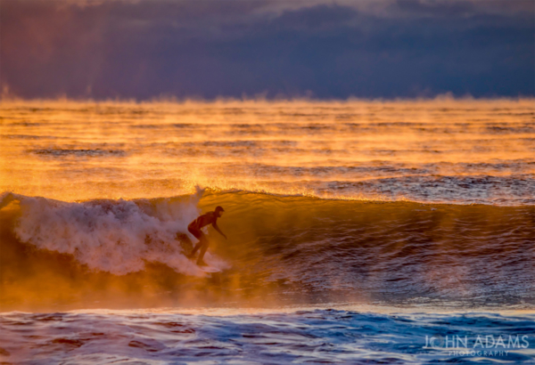 Smokey Sunrise Surf
